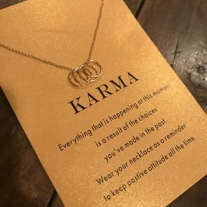 Jewelry - ♡ KARMA Necklace